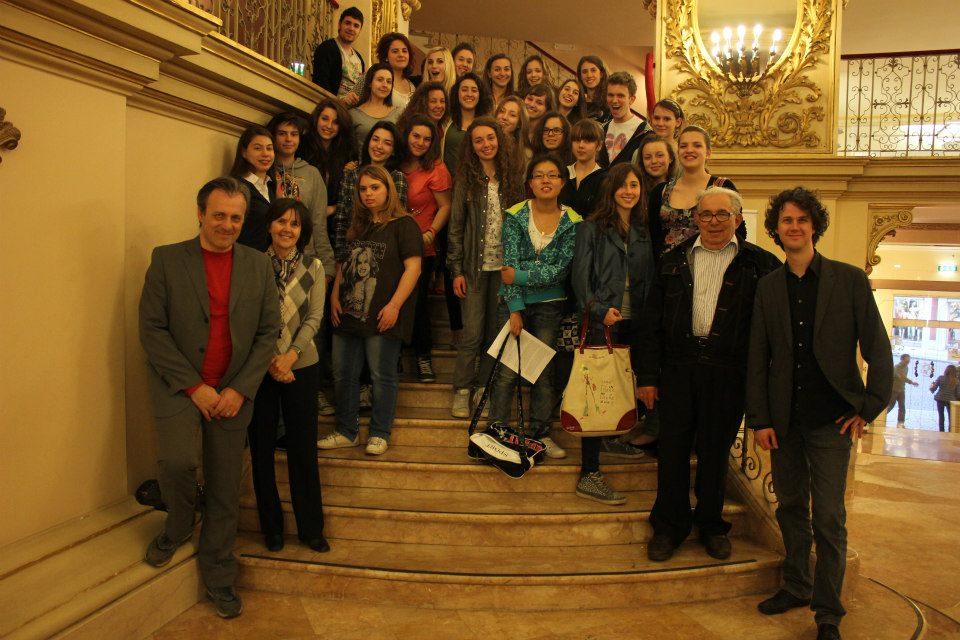 Elisir d'amore al Filarmonico a Verona con gli studenti del Pico