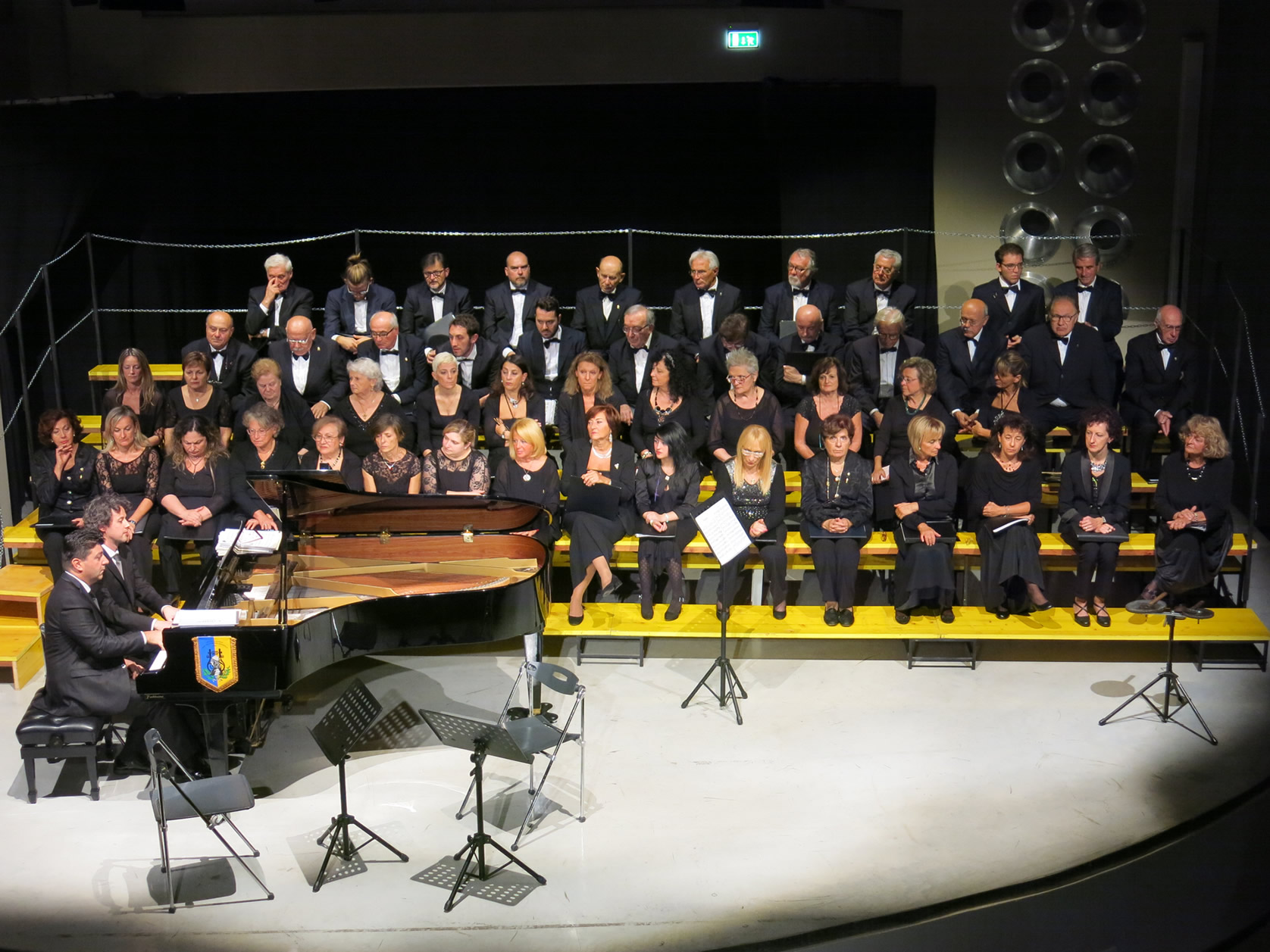Inaugurazione del nuovo pianoforte, 9 ottobre 2016