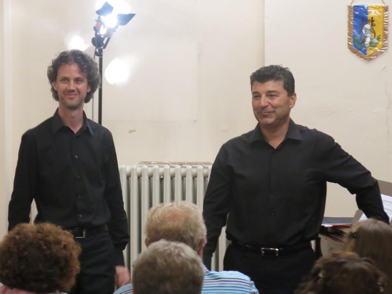 Luca Saltini e Lucio Carpani, un duo pianistico per Mirandola Classica Estate il 7 settembre 2017