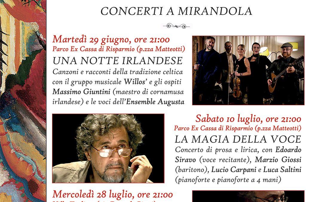 Mirandola Classica… estate 2021