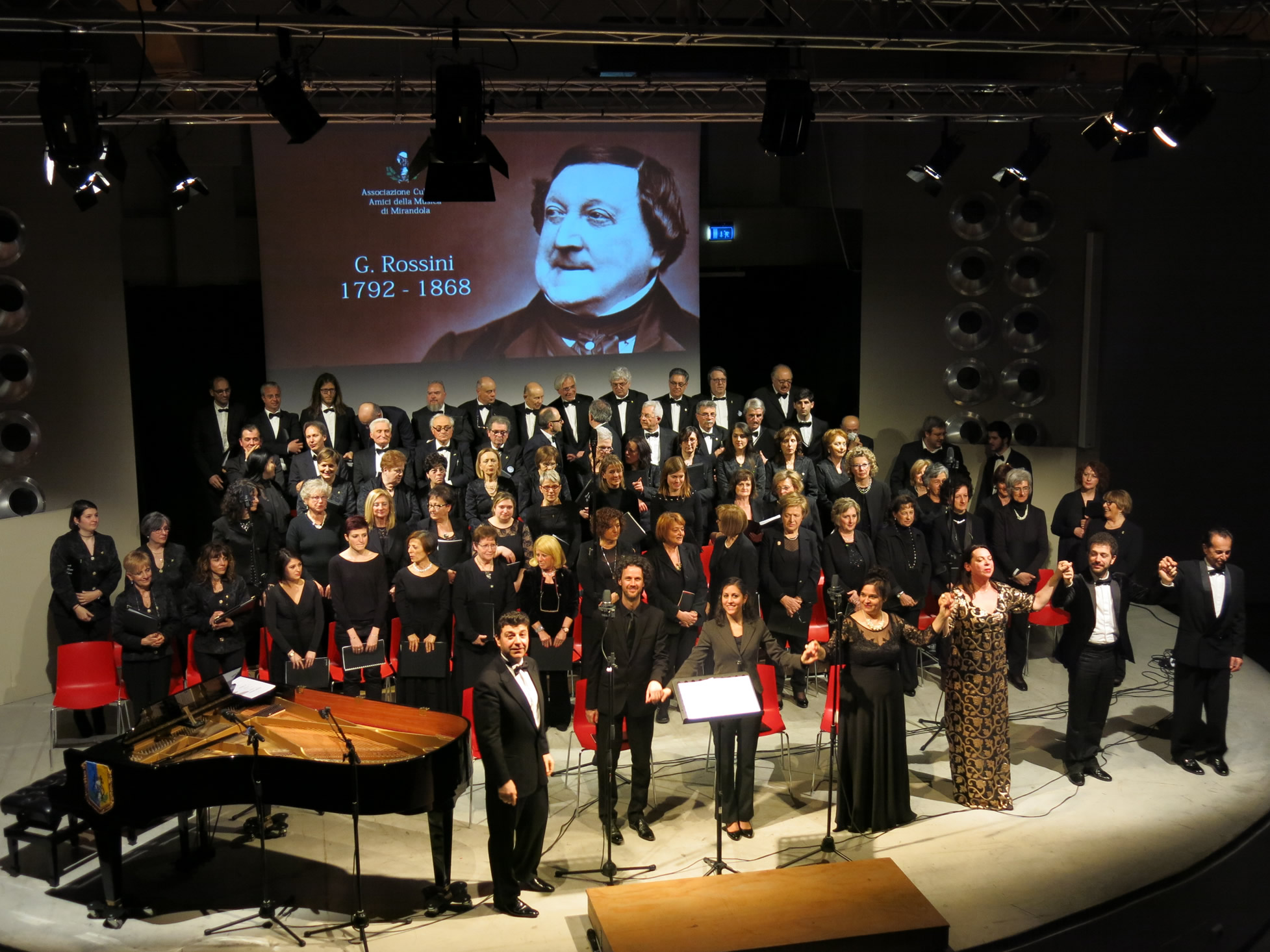 150 dalla morte di G. Rossini, con lo Stabat Mater a Mirandola