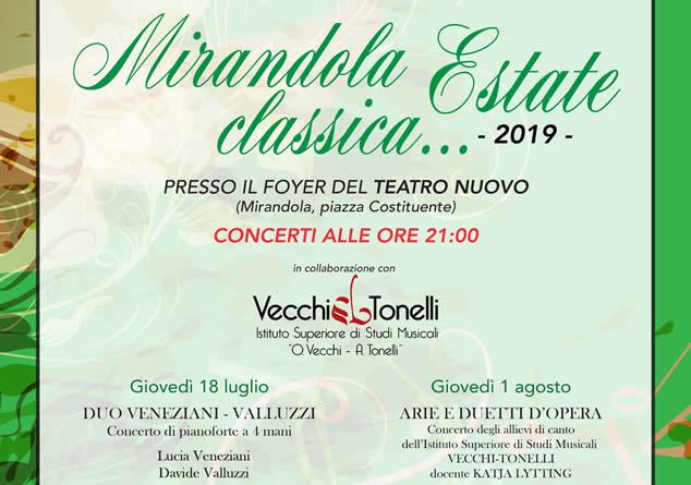 Mirandola Classica Estate 2019