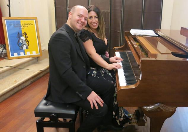 Il duo pianisico Veneziani-Valluzzi per Mirandola Classica Estate