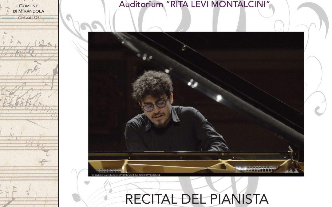 Recital del pianista Giorgio Trione Bartoli