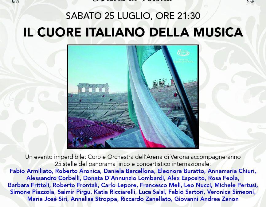 Estate Musicale 2020 – Arena di Verona