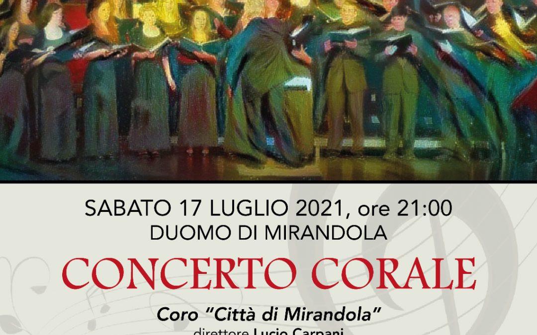 Concerto Corale – sabato 17 luglio ore 21:00